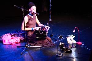 Zafire Ruby at Transgender Day of Rememberance Teater Pero Stockholm 2011