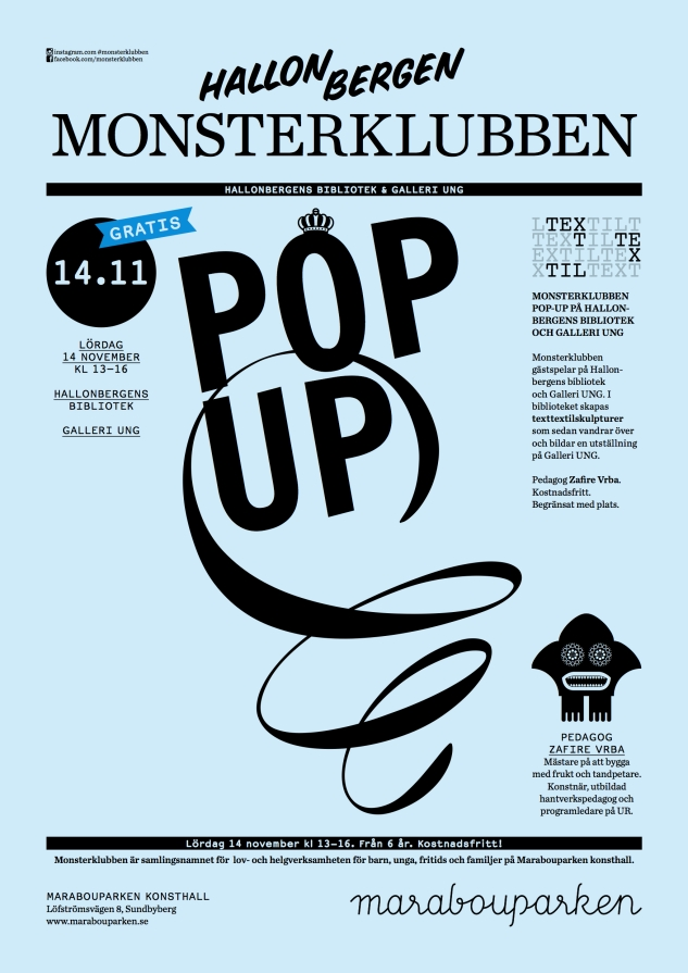 MONSTERKLUBBEN-popup